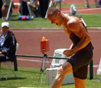 Trey Hardee at the 2012 Olympic Trials