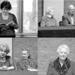 """Members of the Homewood Senior Center gathered last week for a reading of their book """"Proceeding Over the Mountain."""" Clockwise from top left: Aimee Thornton, Senior Center Director; Betty Mann and William F. Kelly; Betty Mull; Joie Culp and Fran Carter. Journal photos by Emily Williams"""
