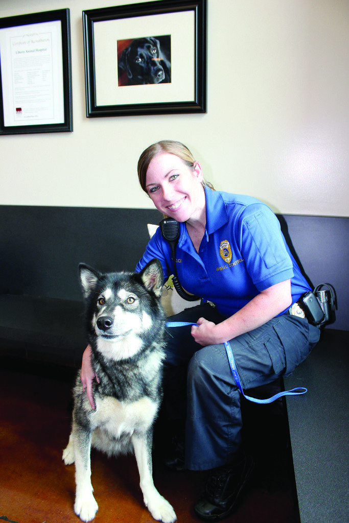"Ashley Martin, Mountain Brook's animal control officer, brings dogs that are ""at large"" to Liberty Animal Hospital, where their owners can reclaim them. If no one claims the god, it will be cared for by the staff at Liberty and put up for adoption. Journal photo by Kaitlin Candelaria"
