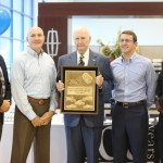 Long Lewis Receives Award Celebrating Anniversary
