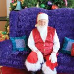 This Santa Carries a Tune: Pennington Brings Christmas Joy to Brookwood Village