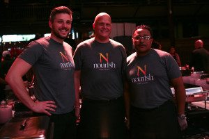 The Nourish team.