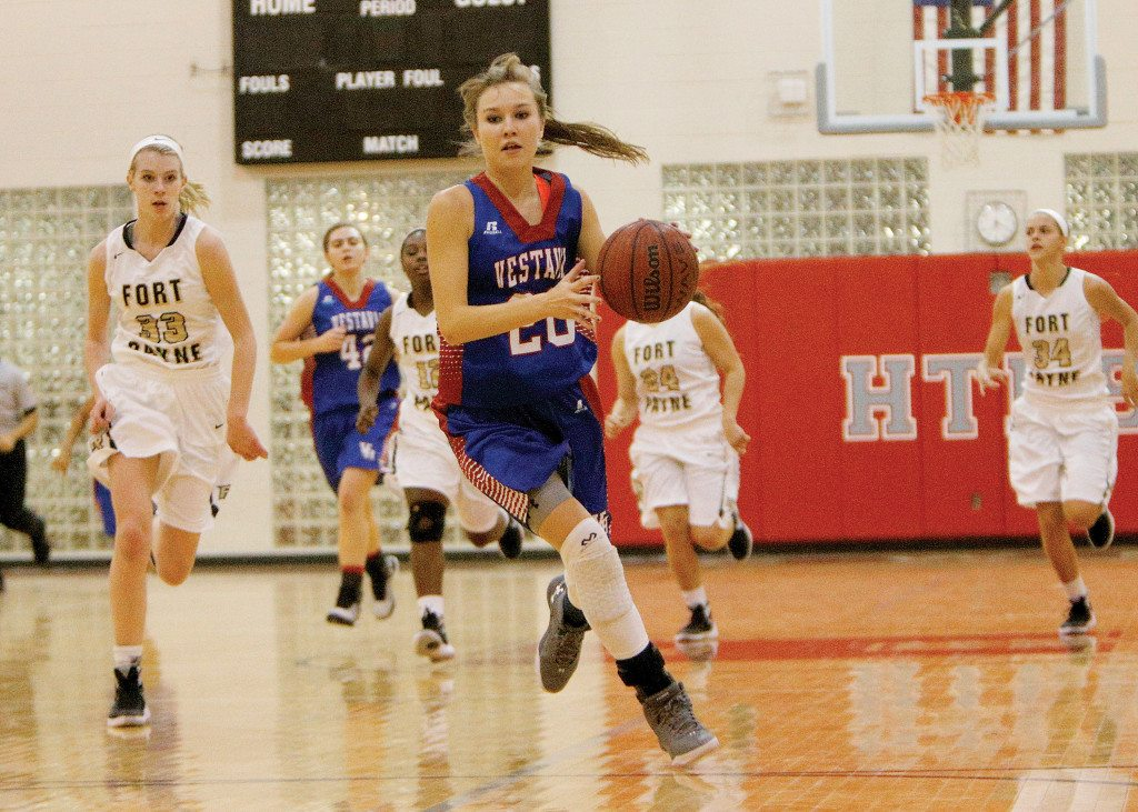 Vestavia vs Fort Payne girls basketball in the Bryant Bank Thanksgiving Classic, Nov. 23, 2015 in Trussville, Ala. (OTMJ Sports Photo/ Hal Yeager)