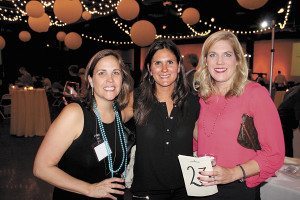 From left: Mimi Bittick, Stacy Cohen and Laura Finch.