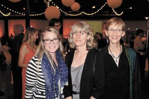 From left: Kate Tully, Janet Standaert and Marie Blair.