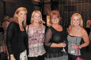 From left: Elizabeth Hubbard, Mary Virginia Cater, Cindy Watson and Kathy Jones.
