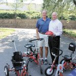 Three-Wheeled Calling: Former Spartan Track Coach Leads Local AMBUCS Non-Profit