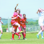 Blue Trophy Trio: Vestavia and Cav Girls , Oak Mountain Boys, 