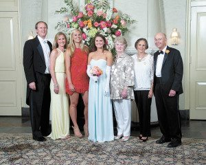John, Lucy, Lulu and Liz Marks, Carole Ivy and Diane and Allen Weatherford.