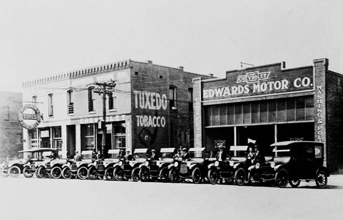 Edwards Chevrolet dealership was established in August 1916, when Sterling Edwards opened the first location in downtown Birmingham on 21st Street.