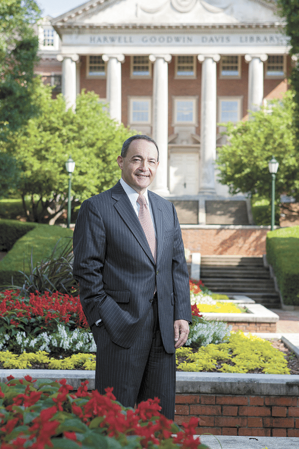 Samford University President Andrew Westmoreland. Photo courtesy of Samford University.