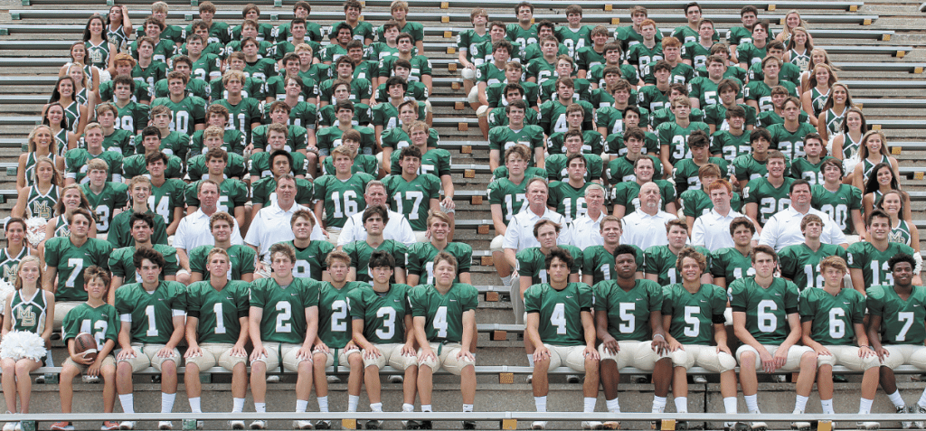 Members of the 2016 Mountain Brook High School varsity football team include: Hamp Greene, Joey Keating, Duncan Bicksler, Aubrey Hart, Sean Elmore, Brinson Reed, McKee Brown, Chandler Cox, Harold Joiner, Charles Cobb, Grant Griffin, Hunter Hartley, A.J. Gates, Jeb Brown, Tillman Ritchey, Daniel Wilbanks, Connor Hart, Wilson Higgins, Reid Hogue, Hamp Sisson, Zachary Carroll, William Powell, Jack Baltz, Collin Bussman, J.P. Darnall, Jackson Tew, Thomas Miller, William Gullage, James Burkett, Mason Dillard, Paul Tyson, Michael O'Leary, Bradford Page, Huston Crommelin, Sam Everette, Claiborne Crommelin, Stav Pappas, Max Sikora, Jim Williams, Wade Robinson, Tully Fulmer, Robert Reed, William Miller, Will Wetzler, Henry Barze, Blake Roth, Joe Saia, Philip Gaut, Stone Favrot, Michael Smith, Gates Johnson, Conner Bussman, Boyd McWhorter, Harrison Weaver, John Carothers, Jimmy Pham, Walter Morris, Chambers Joyce, Wilson Golden, Mark Smith, Tanner Dean, Mabry Crane, Jarrett Harrison, Baynes Autrey, John Wheeler Camp, Edward Cain, Colton Yeager, Bradford Turner, Reid Manley, Clay Stearns, Brendan Brogan, Hugh Lawson Joy, Alex Pankey, Michael Mancuso, Sean Doud, Bennett Suttles, Jack Grant, Brad Jenkins, Bill Miller, Conner Sorrells, Andrew Fuqua, Avery Schelske, Sam Somerville, Nick Belt, Bradley Pinson, Zach Morris, Price Delk, Brooks Autrey, Ian Reilly, Justin Thompson, Hayden McDonald, Bond Elliott, Will Carothers, Liam Mitchell, Anderson Tomlin, Johnny Leara, Ford Williams, Mills Lowman, Aidan Hood, John Pelham, Christian Johnston, Forsyth Elliot, Jack Barron, Ian Hall, Duncan Morris, Braden Allemand, Will Christopher, Miller Stevens, Walker Masingill, Connor Tierney, Robert Briggs, Sims Herron, Henry Gaede, Pierce Rodrigues, Spencer Cardwell, Jay Barze, Will Farrar, Gavin Lee, Sam Colvin, Sterling Edwards, Joe Bird, William Brown, Archie Breland, Will Bennett, Trey Gory, Butler Wilbanks and Jacob Kipp. Journal photos by Emily Williams.