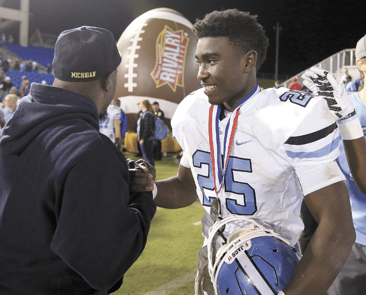 Spain Park Jag's tailback Jordan Wooden. Journal file photo by Marvin Gentry.