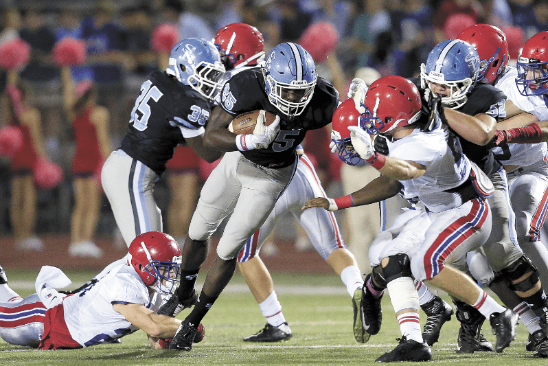 Vestavia will visit Spain Park on Sept. 2 in an early season Region 3 contest. Journal file photo by Marvin Gentry.