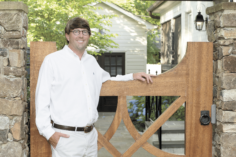 Tastemaker Todd Dorlon, TMD Landscape Designs grew up in Birmingham. Photos special to the Journal.