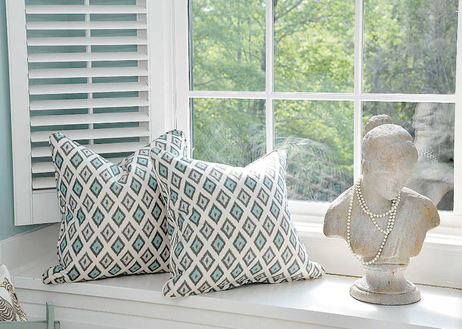 Playful Pillows And A Bust Draped With Pearls Add A Light Touch To The  Upstairs Bedroom Issis U0026 Sons Created With A Girl In Mind.