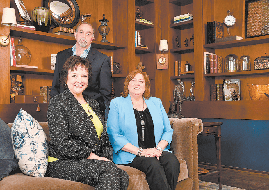 The Issis U0026 Sons Team: Nancy Gowens, Front Left, Anne Borland And Owner  Steve Issis.