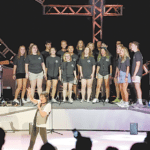 Feels Like the First Time: Local Students Take the Stage with Legendary Band