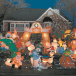 Light Up the Night: Wacky Tacky Christmas Light Tour Raises Funds for Science Camp