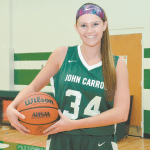 Scoring Machine: Wannemuehler Etches Name in John Carroll's Girls Basketball Record Book