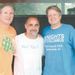 An American Tradition: OLS Knights of Columbus and Congregation Prep for 69th Annual Fourth of July Festival