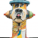 Shelby Humane Society's Bark and Wine to Auction Decorated Hydrants