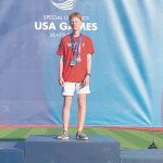 Lifetime Experience: Mountain Brook's Lewis Relishes Running in the Special Olympics USA Games