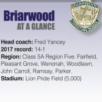 'We Could Have an Outstanding Team': Briarwood Faces a Tough Schedule but Aims for the Top With Position Switches