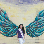 A Wing and a Prayer: Pageant Winner Teams up With Local Artist to Create T-Shirt That is More Than Meets the Eye