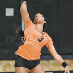 King Settles Into Leadership Role for Hoover Volleyball Team
