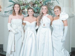 From left: Sarah Grace Lindsey, Paley Robinson Smith, Mary Evelyn Sprain and Kathryn Toy Littleton.