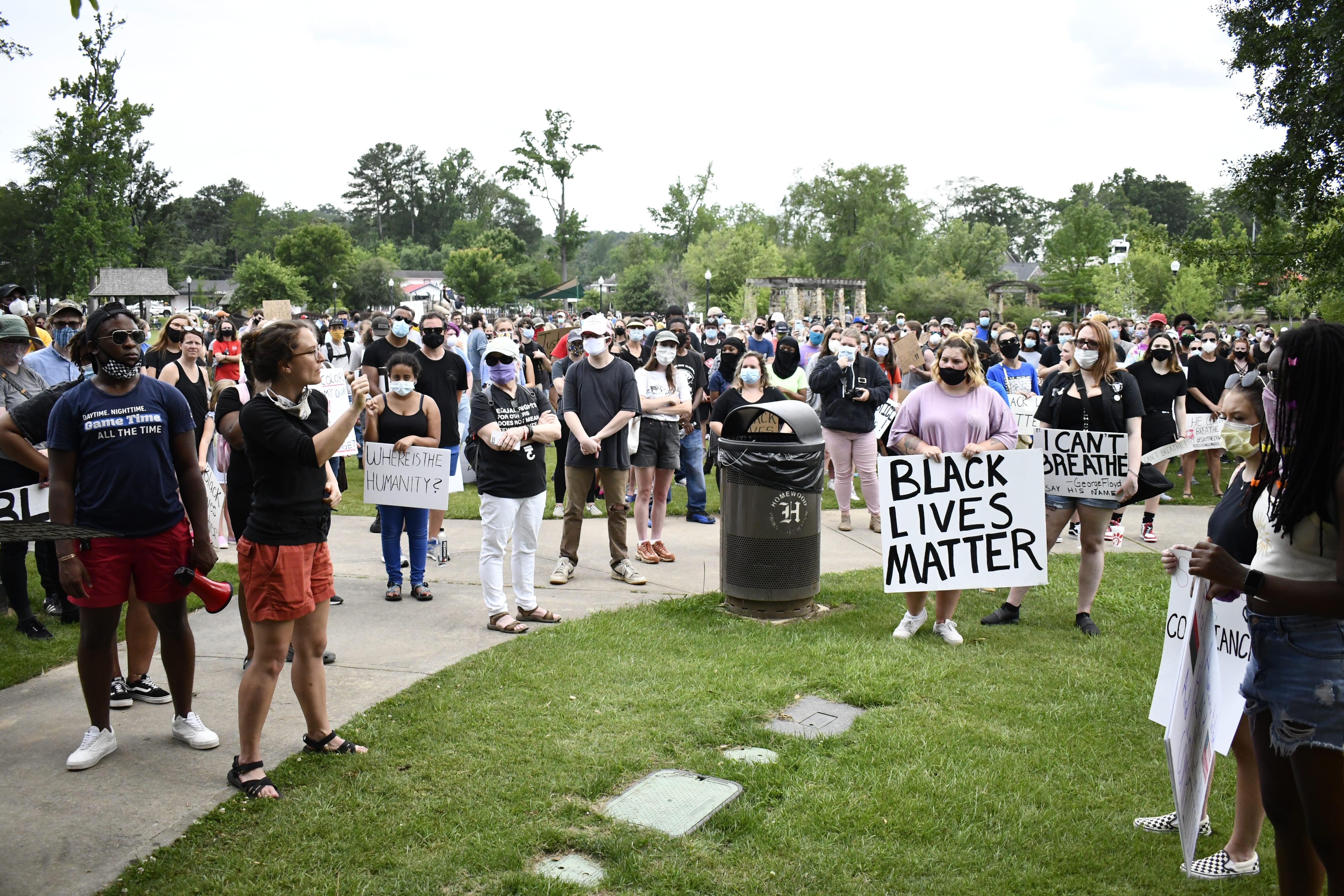 ARAI Solidarity Rally for George Floyd Homewood, June 2, 2020