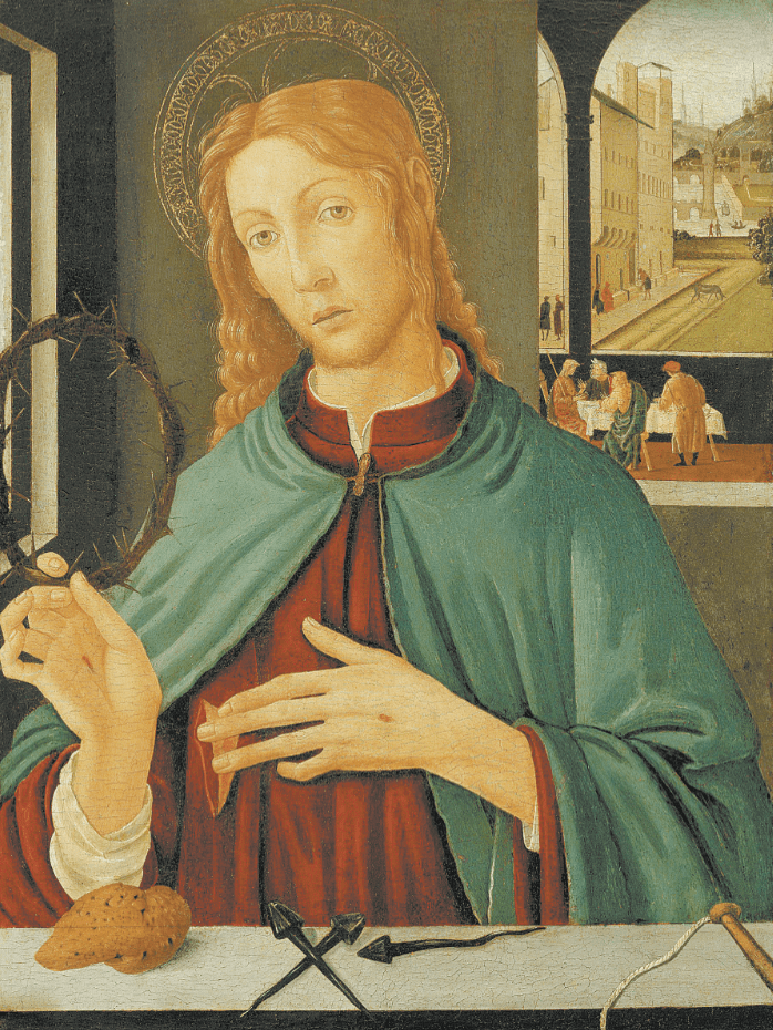 Christ with Instruments of the Passion by Jacopo d'Archangelo del Sellio (Italy) 1485