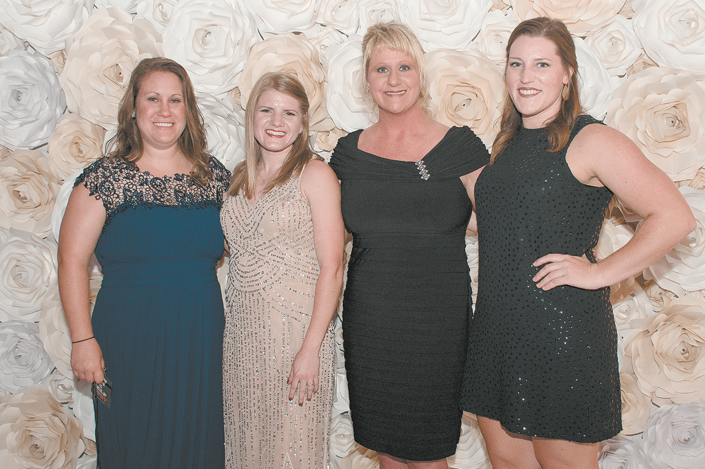 Mandy McMichael, Rachel Arrington, Karen Gay and Bailey Judd.