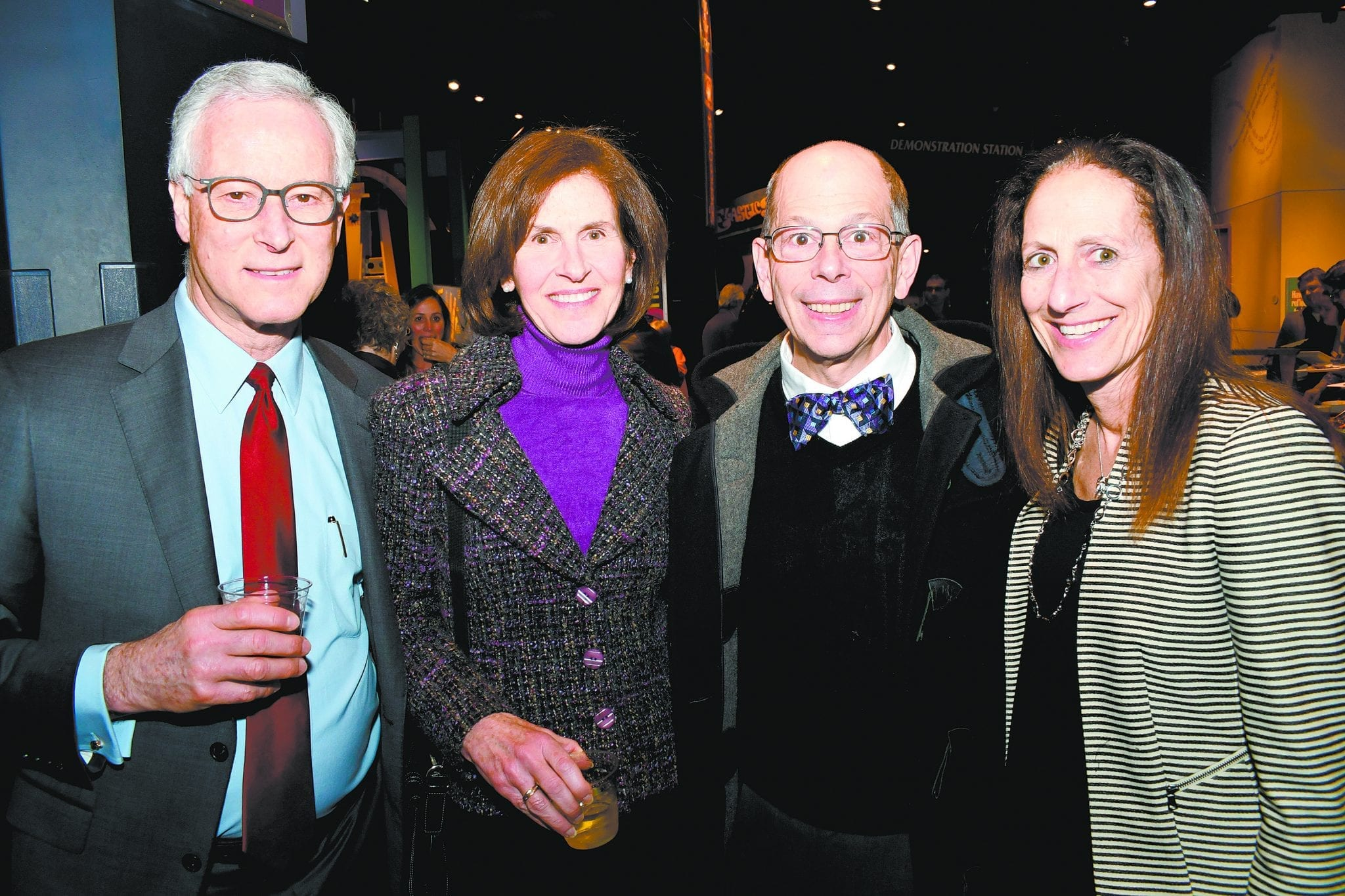 Bruce and Michele Korf with Mitch Cohen and Morissa Ladinsky