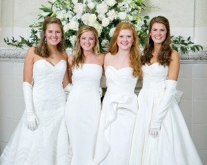 Virginia Drennen, Catherine Smith, Caroline Gray and Lalie Given.