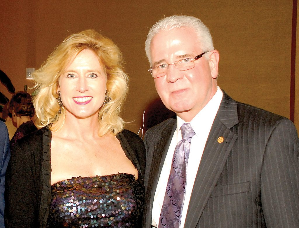 Carolyn Ivey and Mayor Gary Ivey. Photo special to the Journal.