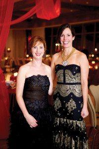 Nikki Still and Sarah Warburton. Photos special to the Journal.