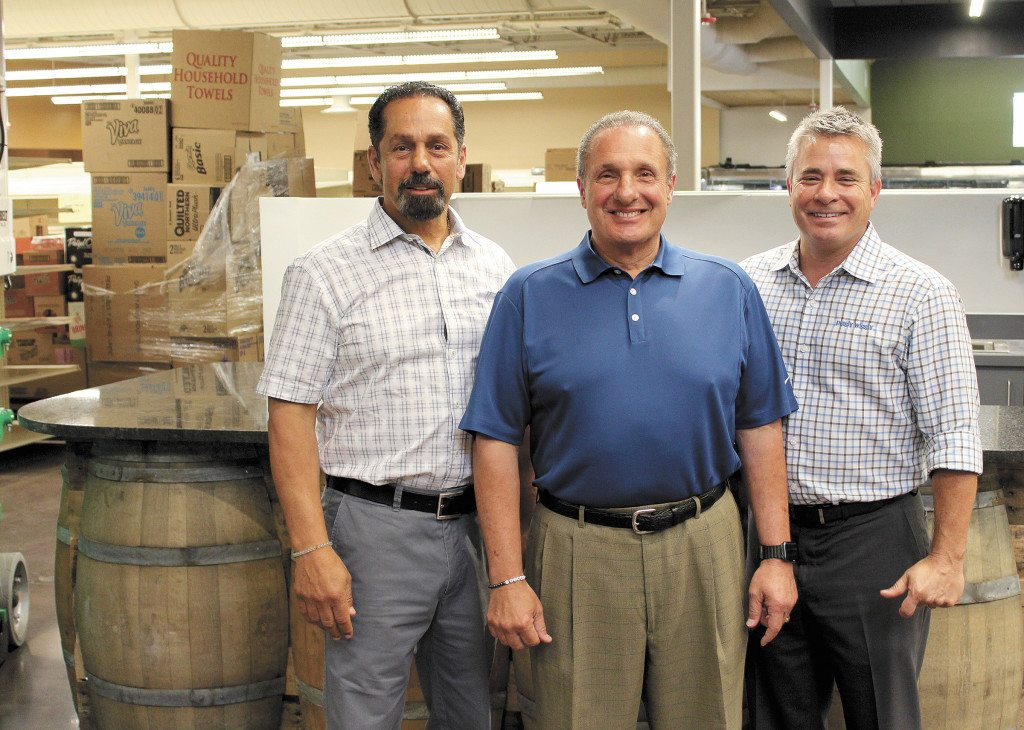Co-owners Basim Ajlouny, Naseem Ajlouny and Andy Virciglio are looking forward to the return of the Crestline Piggly Wiggly, opening later this month.