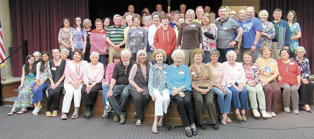 The 2016 Trash N' Treasures planning committee is gearing up for the annual community sale at Our Lady of Sorrows ' annual Fourth of July Celebration. Photo special to the Journal.