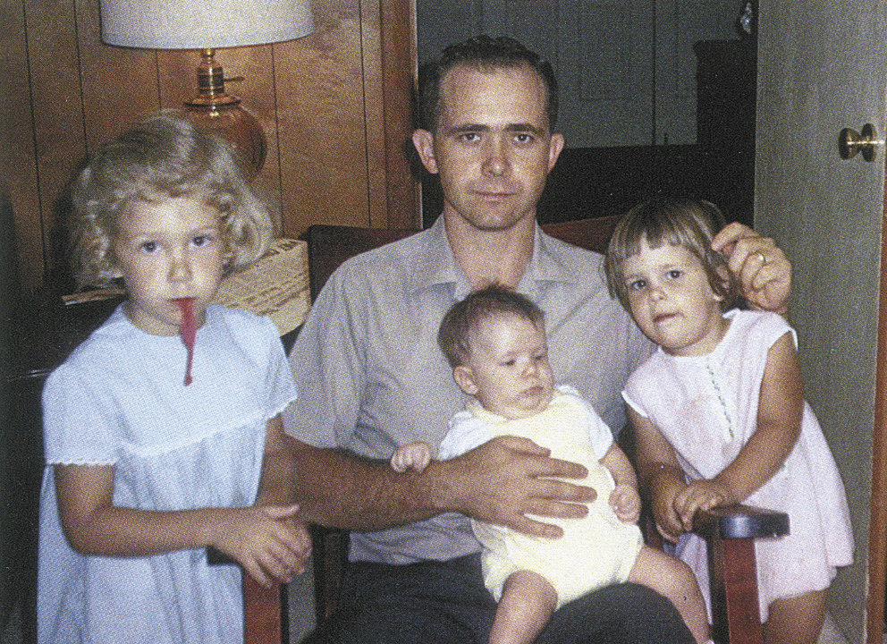 Henderson with his children, Rhonda, William and Ellen, in 1967. Photo courtesy of Ron Henderson.