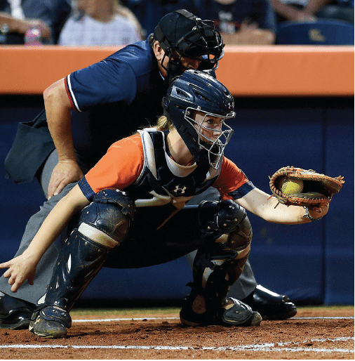 Courtney Shea. Photos courtesy of Auburn Athletics.