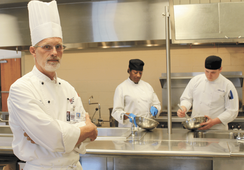 Jefferson State Community College Culinary and Hospitality Institute team leader Todd Jackson is gearing up for his team to compete in this year's Iron City Chef: BBQ Edition. Journal photo by Emily Williams.