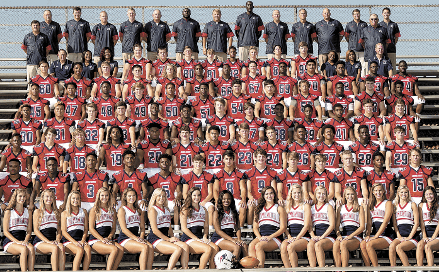 Members of the 2016 Homewood High School football team include: Chestin Jones, Nick McCoy, C.D. Daniels, TyShawn Buckner, David Robertson, Fred Williams, Chance Hall, Austin Spiers, Andrew Cleveland, Larkin Williams, Jacob Pendley, Jackson Griggs, Logan Padgett, Boubacar Sylla, Ryan Williams, Kamarrus Amison, Ky Burdeshaw, Ty Hatcher, Brandon Claiborne, Kamren Amerson, Jake Biles, Marcus McGhee, Josh Douthit, Michael Kash, Patrick Domingo, Jaden Alexander, Kris Wilkins, Antarius Mitchell, Thomas Smith, Josh Stone, Rene Briseno, Graham Duncan, Riley Meeks, Devin Bacchus, Trent Owens, John Firnberg, Crawford Doyle, Charlie Williams, Ibrahima Sylla, Malcolm Scott, Parker Allen, Elliott Yacu, Justin Williams, Traveon Allen, Javier King, Dalen Tyler, Campbell Brabston, Antoine McGhee, Vincent Adams, Tobias Thomas, Jesus Figueroa, Miguel Figueroa, Joseph Ingram, Esau Parker, Bailey Thomas, Edrick Cunningham, William Sims, Logan Bales, Joseph Molstad, Tyler Wheat, Harry Moody, Andrew Williams, Brennan Gardner, Will Strong, Jacob Armour, Johnny Moreno, Jaheim Jackson, S.J. Ramsey, Ethan Sherman, Grayson Kelley, Sam Ray, Bailey Lapinsky, Wesley Williams, Armonie McHeard, Johnathan White, Tony Jacka, David Bearden, Wilson McCraw. Photos by Marvin Gentry.