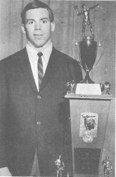 Pat Sullivan was named Outstanding Player in Jefferson County by the Eastwood Jaycees in 1967. Photo special to the Journal.
