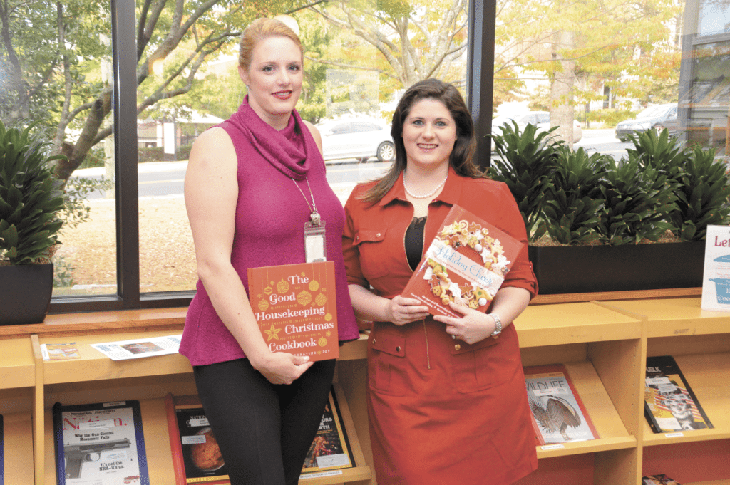 Charity Huter, an adult services technician, and Judith Wright, the teen librarian at Homewood Public Library, have been sharing recipes with each other for several years. Journal photo by Jordan Wald.