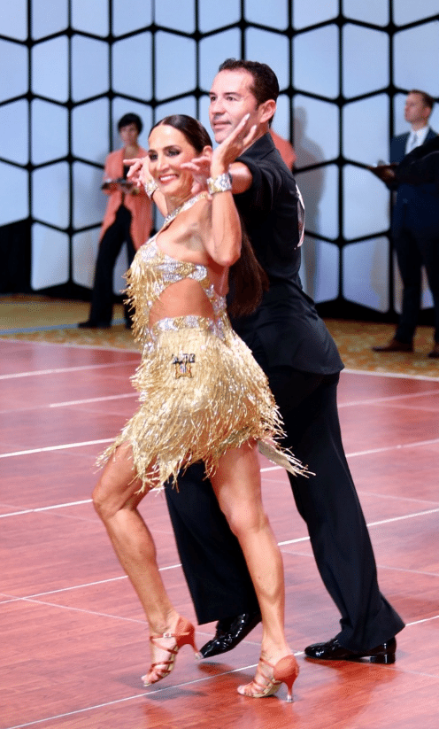 Take The Lead Competitive Ballroom Dancing Keeps Ann Rich On Her Toes Over The Mountain Journal
