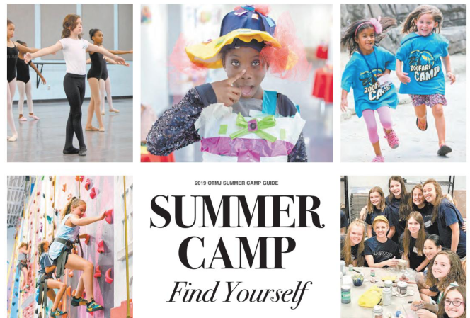 Summer Camp Guide Find Yourself Over The Mountain Journal