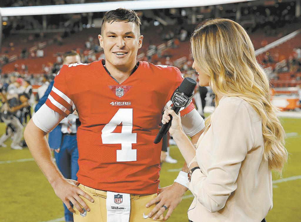 official photos 29704 c77f3 Nick Mullens Wins 49ers' Backup Quarterback Job, Becomes a ...